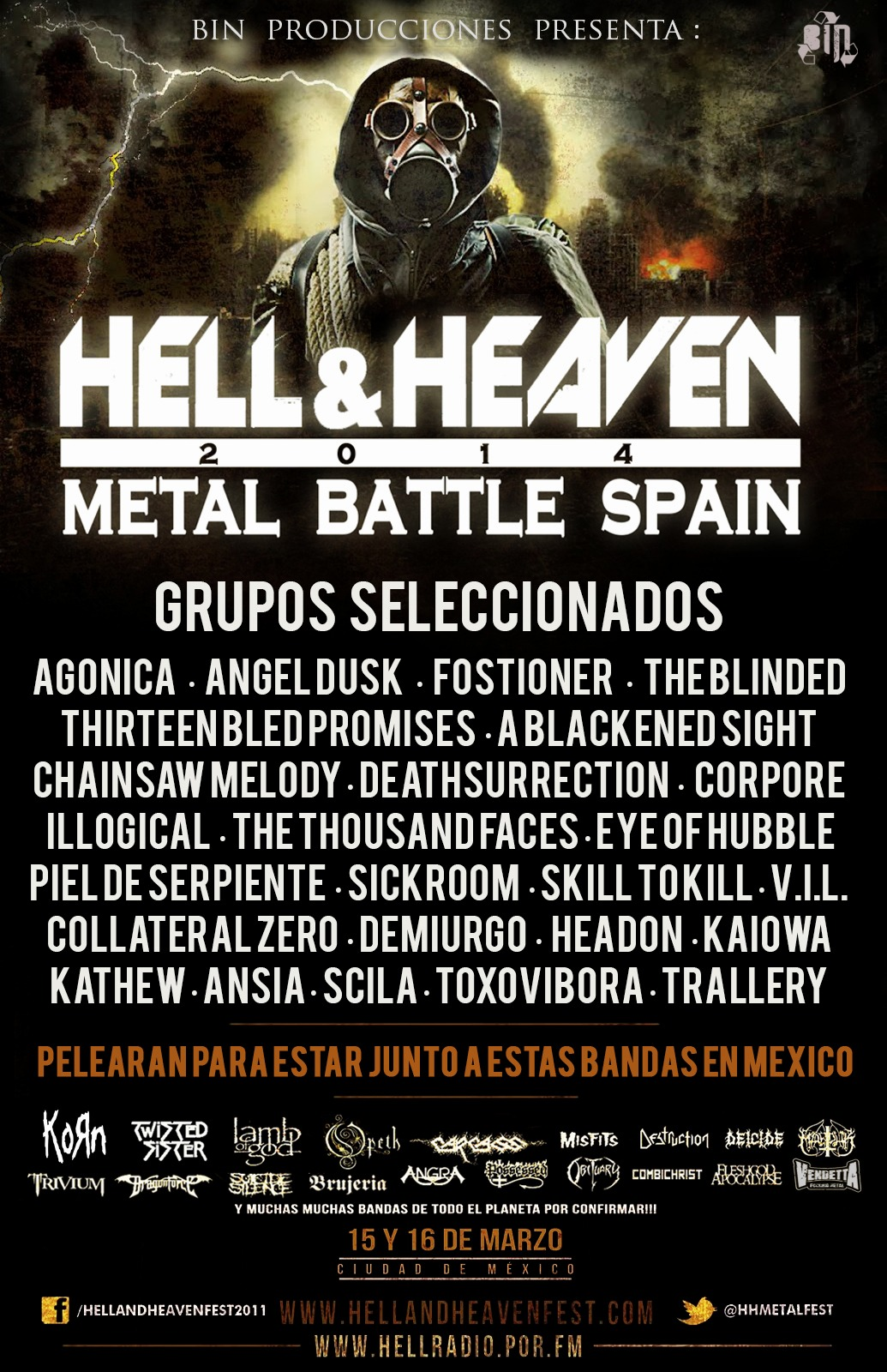 Semifinales Hell And Heaven – INCENDIO PROG – PHANTASY
