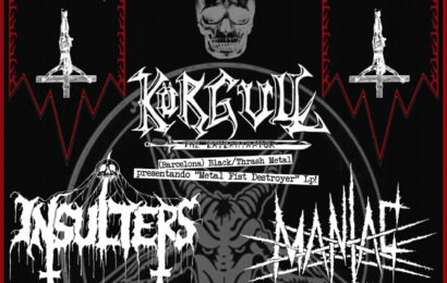 Fan Metal Show – KORGULL THE EXTERMINATOR – Golpe de Voz