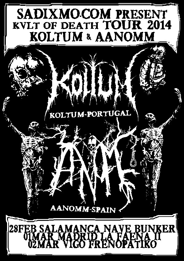 J. Ángel Alae – HUMMANO – KVLT OF DEATH TOUR