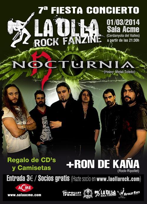 Fiesta La Olla Rock Fanzine – MÄGO DE OZ – ROCK'ANTENA ROLL