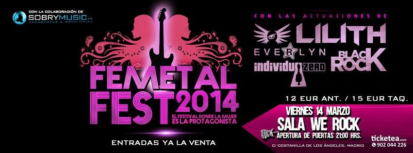 FEMETAL FEST –  FATHER GOLEM – Con Fuerza Heavy