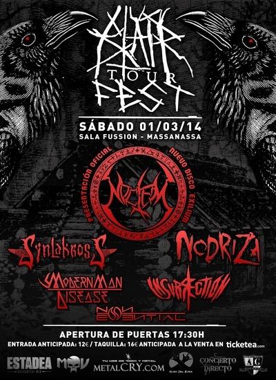 BLAIR TOUR FEST, 01 de marzo, Massanassa (Valencia).
