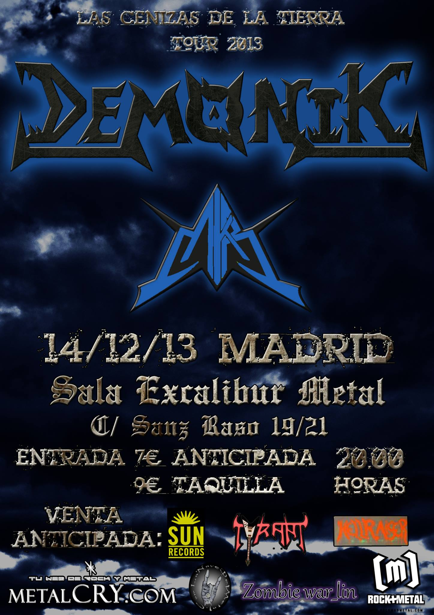 DEMONIK + MKR – Madrid – 14/12/13
