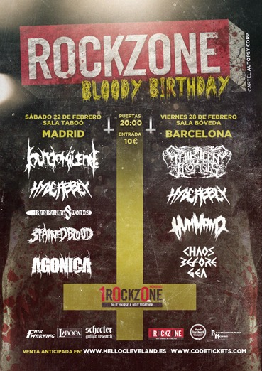 HELL HOUSE – ROCKZONE BLOODY BIRTHDAY – ALHANDAL