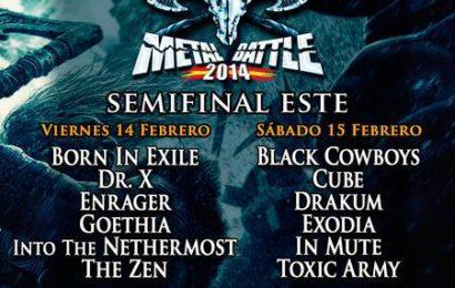 WOA Metal Battle, semifinal Este – 14 y 15 de febrero.