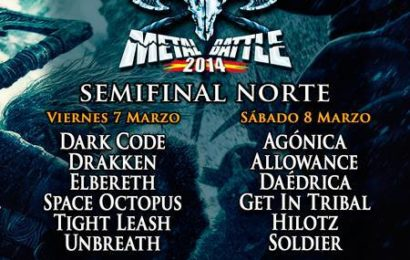 Finalistas Woa Metal Battle Spain Norte
