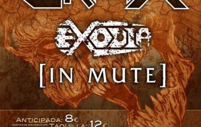 CRISIX + EXODIA + IN MUTE – Valencia – 07/02/14