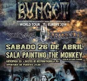 Rock´Antena Roll – HARDCORE ANAL HYDROGEN (FRA) – Barcia Metal Fest 2014