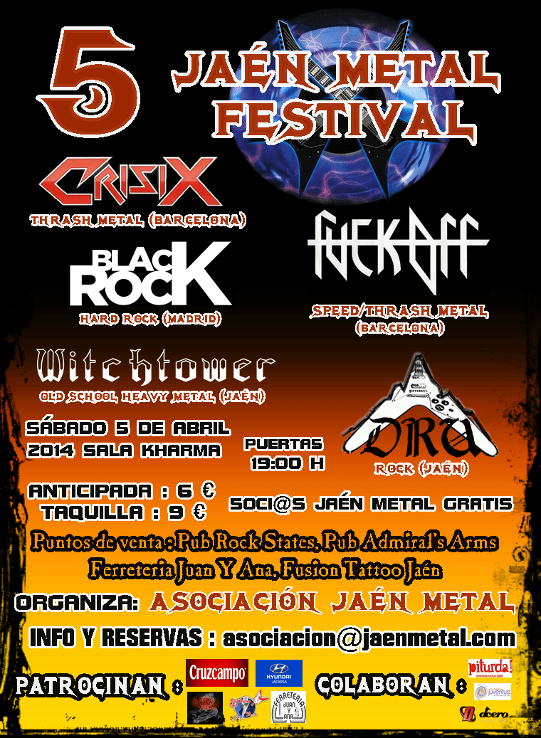V Metal Jaén Fest – PROYECTO ESKHATA – VIOLET JUNE