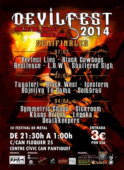 Semifinales Devilfest 2014