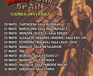 BONAFIDE – SLEEPER EFFECT (GBR) – Pax Julia Metal Fest IV
