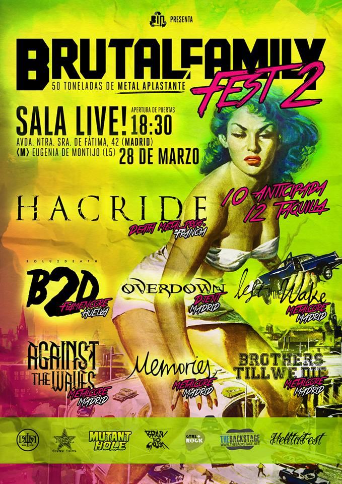 ARENIA – Fan Metal Show – HACRIDE (FRA)