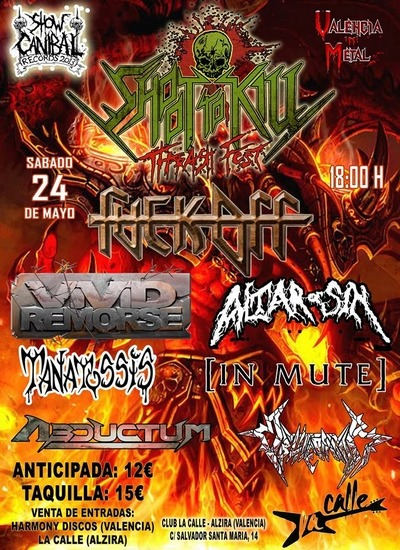 Shoot To Kill Thrash Fest – VIOLET JUNE – Sin Rendir Tributo Cd