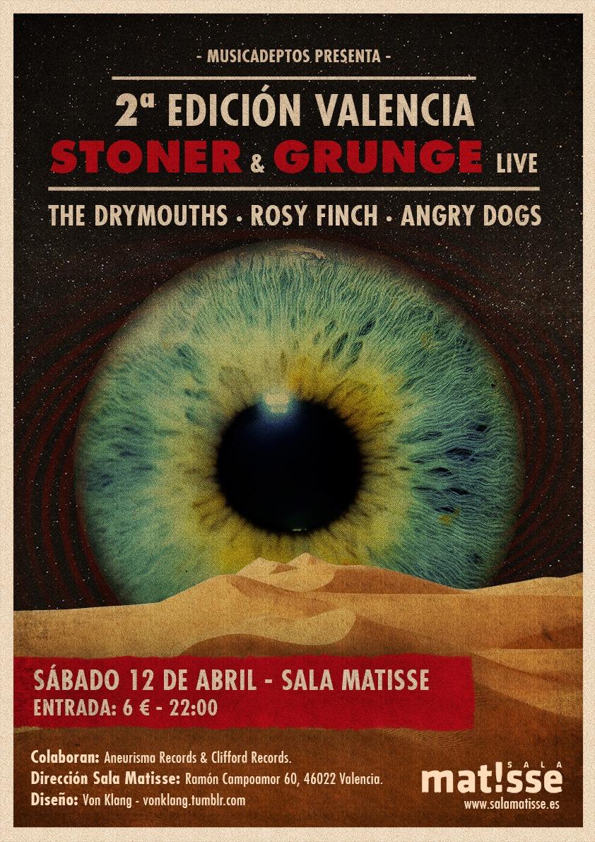 Valencia Stoner & Grunge Fest – HORN OF THE RHINO – JOHN BROWNE (MONUMENTS)