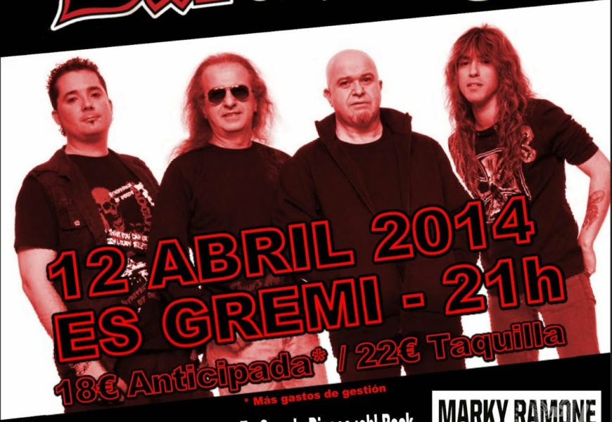 Muñorrodero Metal Fest – CREAM PIE (ITA) – BARÓN ROJO