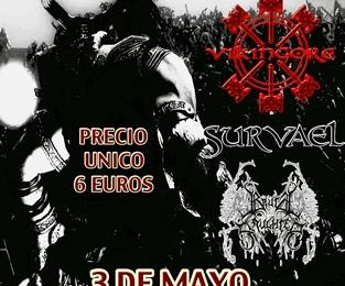 Brutal Pagan Tour – Mairena del Aljarafe – 03/05/14