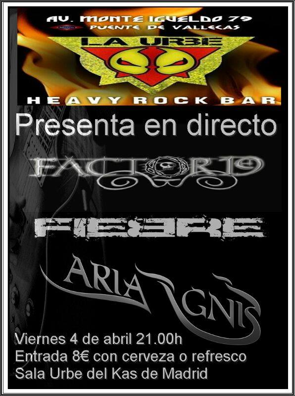 SYNLAKROSS – NEXT STEP – ARIA IGNIS + FIEBRE + FACTOR19