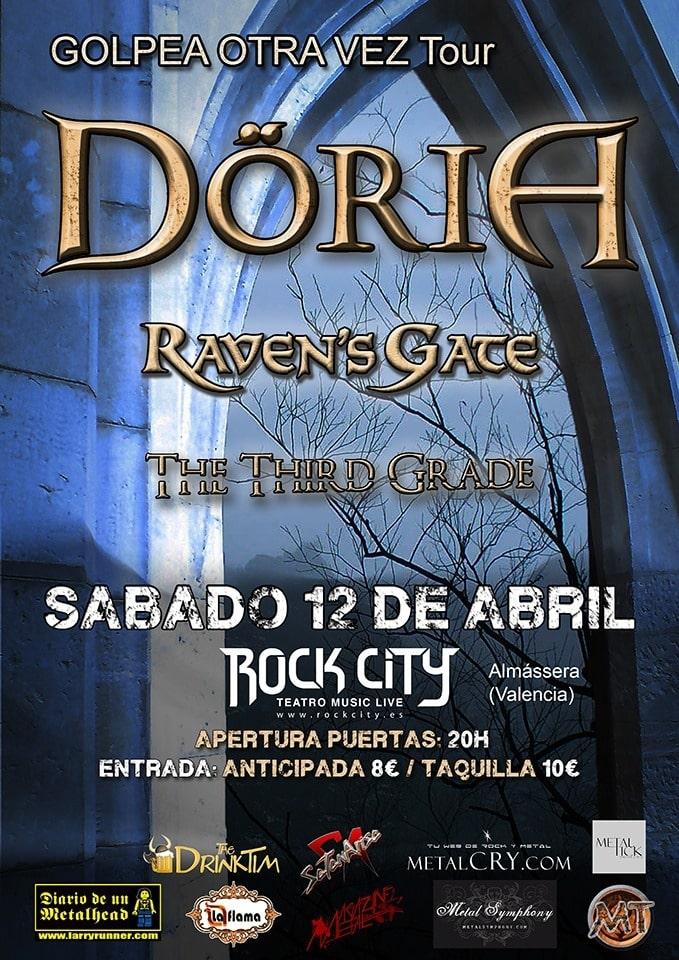 DÖRIA + RAVEN'S GATE + THE THIRD GRADE – DEF CON DOS – CUBE