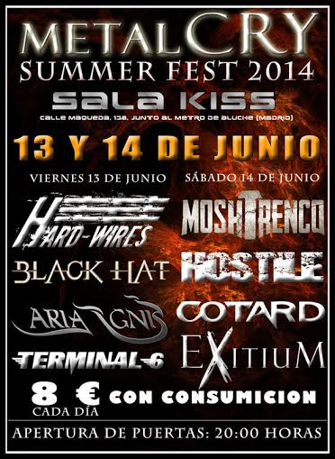 Metalcry Summer Fest – BLOODHUNTER – Bazoka Metal Fest