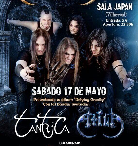 Concierto de RAVEN´S GATE el 17 de mayo en Villareal