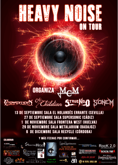 Heavy Noise on Tour – SEZ-NAUS – CALIBRE ZERO