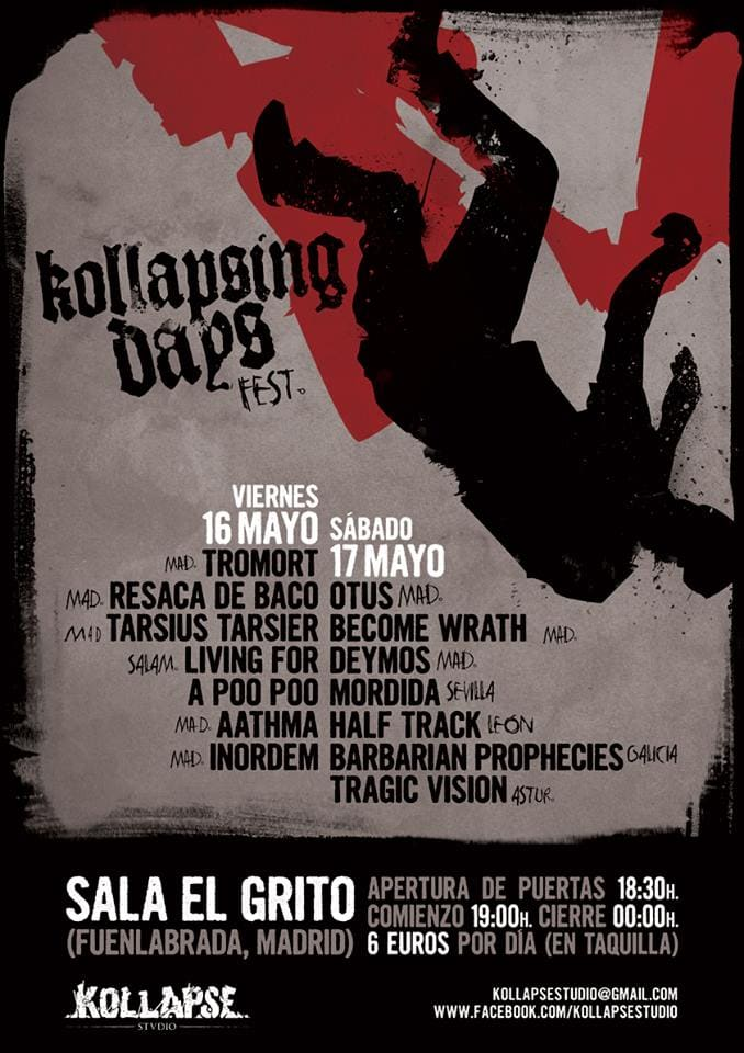 UNEARTHLY – RIOT OF VIOLENCE – Kollapsing Days Fest