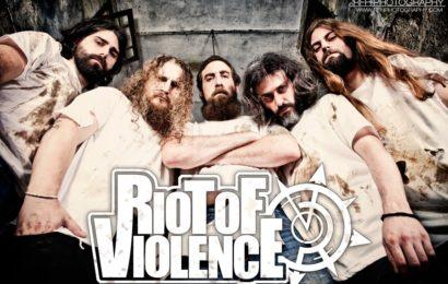 RIOT OF VIOLENCE  – OKER – ROCK'N LUARCA