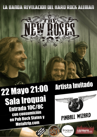 THE NEW ROSES – SAUROM – CICONIA