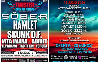Twister open air festival – ROMEO – Rock Antena Roll