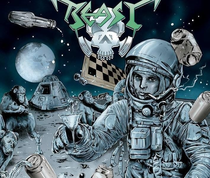 BEAST – Infernal hangover… wrecked in space, 2013.