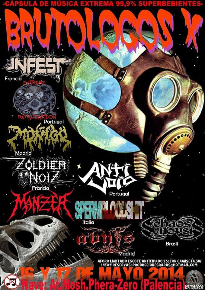 X Brutologos – Hechos de Metal Fest – La Puerta de La Noche
