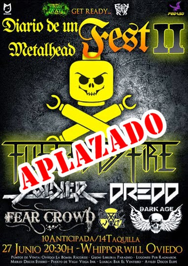 Diario de un Metalhead Fest II – Golpe de Voz Radio – Fan Metal Show Radio
