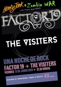 factor 19 y the visiters
