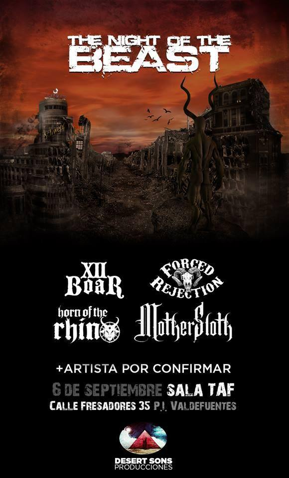 HORN OF THE RHINO – RAVEN´S GATE – CRONÓMETROBUDÚ