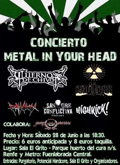 Metal In Your Head – MOSH – Move Your Fucking Brain Extreme Fest X