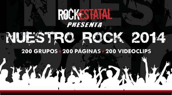 Recopilatorio Nuestro Rock 2014