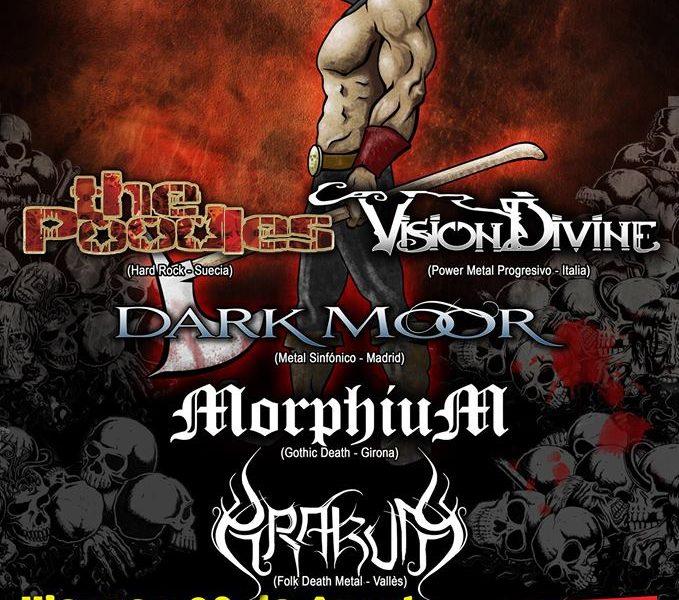 Fan Metal Show – UNDERWELL – Ripollet Rock Festival 2014
