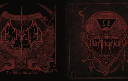 ERED / MARTHYRIUM – Psalms of plagues & cult of death, 2013