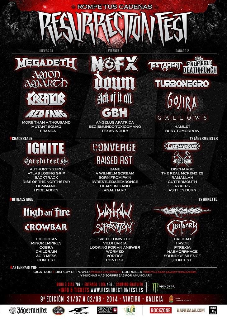 Resurrection Fest 2014 – Crónica/Reportaje