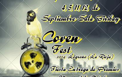 Aquelarre de bandas y fiesta presentación del Coven Fest