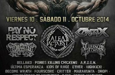 Criminal Hardcore Fest – SYMMETRIC CHAOS – HORN OF THE RHINO