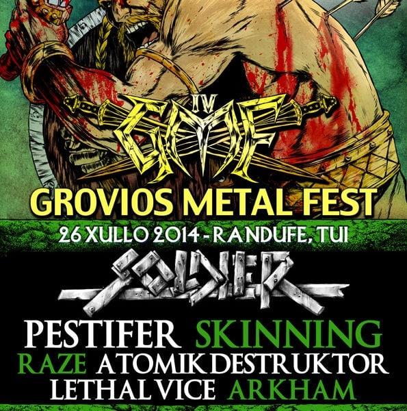 IV Grovios Metal Fest, 26 de julio en Tui