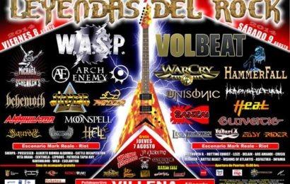 LEYENDAS DEL ROCK 2014 – Sábado 09/08/14