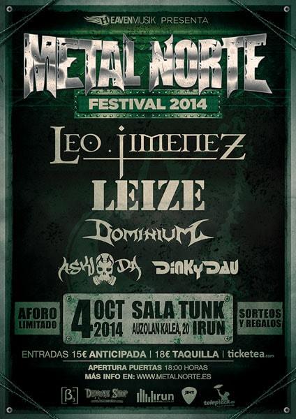 Metal Norte Festival 2014.