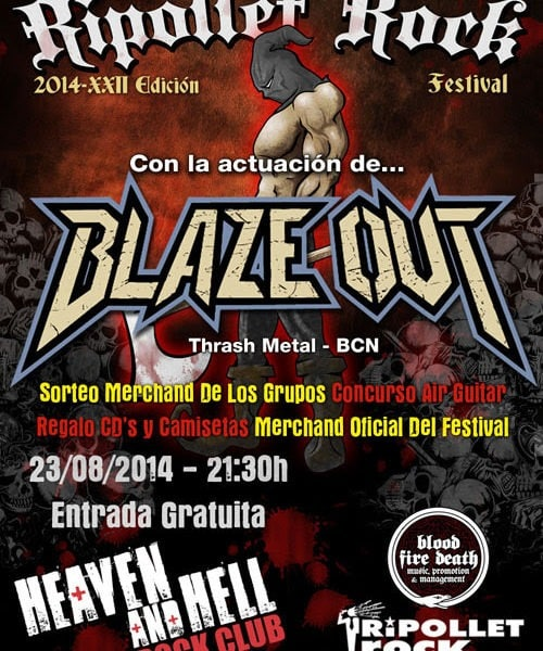GUILLES DE RAIS – DRAKUM – Ripollet Rock Festival