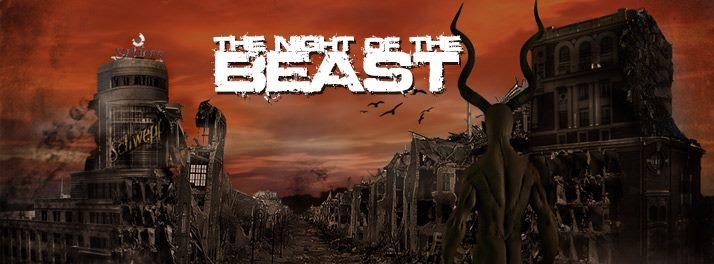 The Night of the Beast – XARCASMO – NERVOCHAOS (BRA)