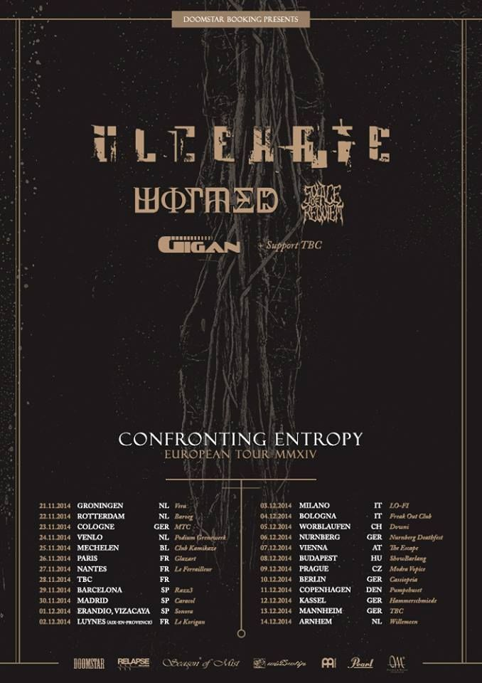 WORMED – FALL TO OVERCOME – V.I.L