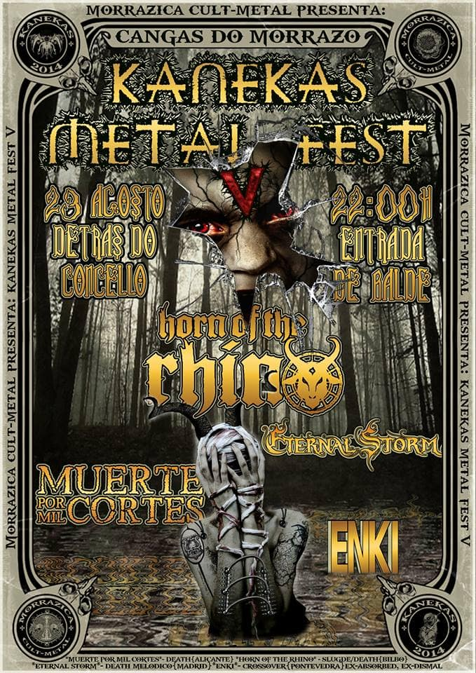 V Kanekas Metal Fest – OVERLOUD – Temple of Death Festival