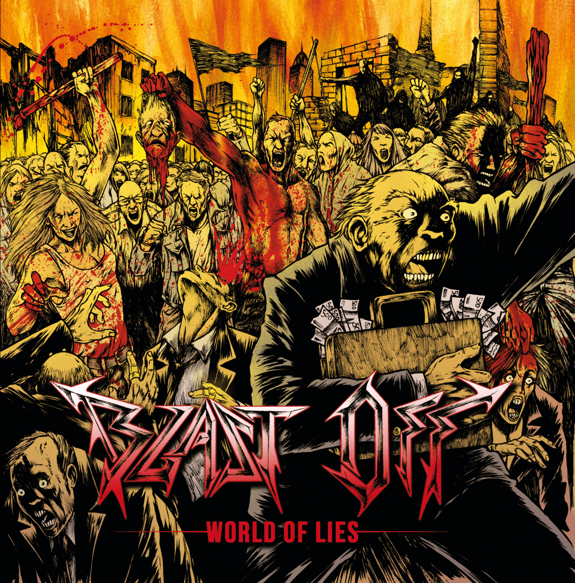 BLAST OFF – World of lies EP, 2014