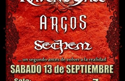 RAVEN´S GATE en directo por primera vez en Madrid.
